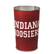 Wincraft NCAA 4 Gallon Metal Trash Can; Indiana