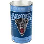 Wincraft NCAA 4 Gallon Metal Trash Can; Maine
