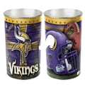 Wincraft NFL Tapered Wastebasket; Minnesota Vikings
