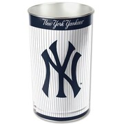 Wincraft MLB Tapered Wastebasket; New York Yankees - Pinstripe
