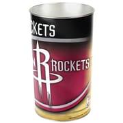 Wincraft NBA Tapered Wastebasket; Houston Rockets