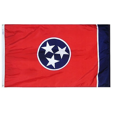 Annin Flagmakers Tennessee State Flag; 3' x 5'