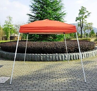 Aosom Outsunny Party Tent; Rust Red