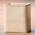LaMont Carter Rectangular Wastebasket; Linen
