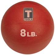 Body Solid Medicine Balls in Red