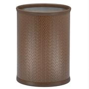 Kraftware San Remo Waste Basket; Brown