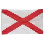 Annin & Co Alabama State Flag; 3' x 5'