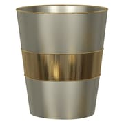 NU Steel Selma Waste Basket; Gold