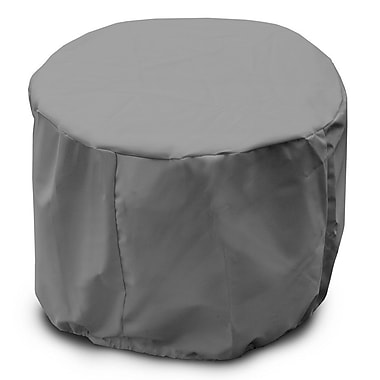 KoverRoos Weathermax Round Table Cover; Grey