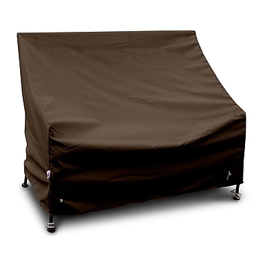 KoverRoos Weathermax 3-Seat Glider / Lounge Cover; Chocolate