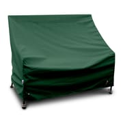 KoverRoos Weathermax  Highback Loveseat/Sofa Cover; Forest Green