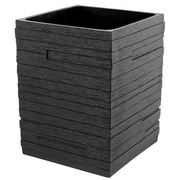 Gedy by Nameeks Quadrott Waste Basket; Black
