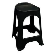 Adams Mfg. Corp. RealComfort 24'' Bar Stool (Set of 2); Black