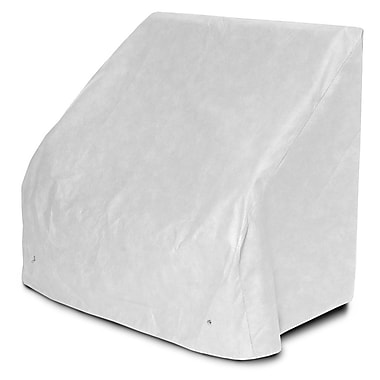 KoverRoos DuPont Tyvek Bench / Glider Cover; 37'' H x 63'' W x 28'' D
