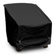 KoverRoos Weathermax  Deep Seating Chair Cover; Black