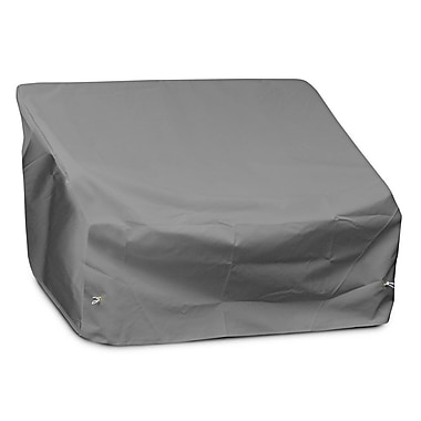 KoverRoos Weathermax 2-Seat / Loveseat Cover; Grey