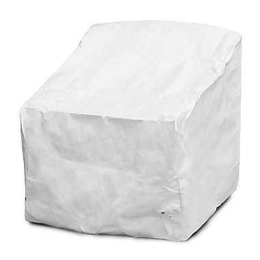 KoverRoos DuPont Tyvek Deep Seating Dining Chair Cover; 33'' H x 32'' W x 32'' D