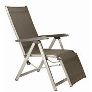 Kettler Basic Plus Relaxer Chaise Lounge; Silver/Grey