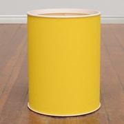 LaMont Brights Round Wastebasket; Daffodil