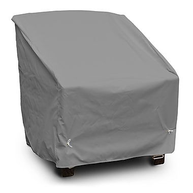 KoverRoos Weathermax Deep Seating Chair Cover; Grey