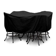 KoverRoos Weathermax  Large Bar Set Cover w/ Umbrella Hole; Black