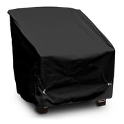 KoverRoos Weathermax  Deep Seating High Back Chair Cover; Black