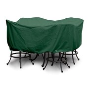 KoverRoos Weathermax  Large Bar Set Cover w/ Umbrella Hole; Forest Green