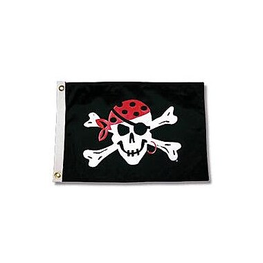 Taylor Made Products Pirate Heads One Eyed Jack Traditional Flag