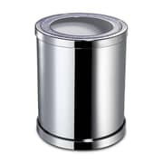 Windisch by Nameeks Accessories 1.54 Gallon Metal Trash Can; Gold