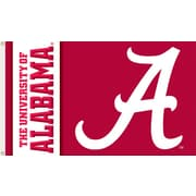 BSI Products NCAA Traditional Flag; Alabama - A Logo on Red