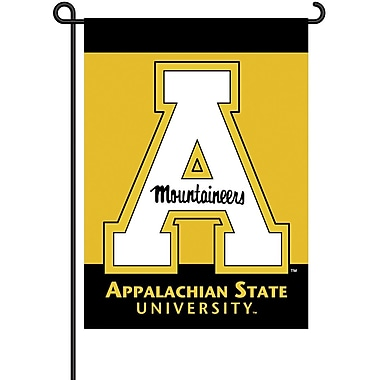 BSI Products NCAA 2-Sided Garden Flag Set; Appalachian State