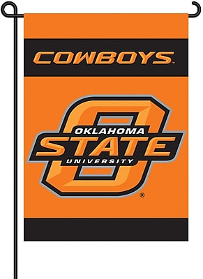 BSI Products NCAA 2-Sided Garden Flag Set; Oklahoma State WYF078275868084