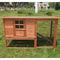 Aosom Pawhut Hutch Chicken Coop with Nesting Box