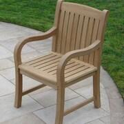 Royal Teak Teakwood Roll Dining Arm Chair