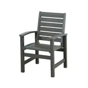 POLYWOOD  Signature Dining Chair; Slate Grey