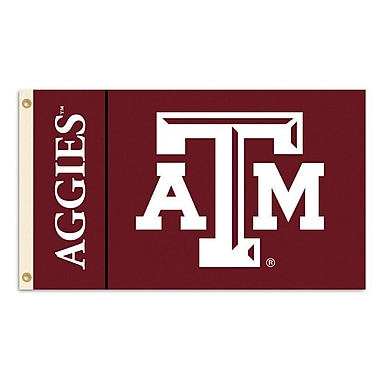 BSI Products NCAA Traditional Flag; Texas A&M