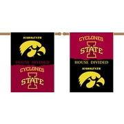 BSI Products NCAA House Divided 2-Sided Banner; Iowa v. Iowa State