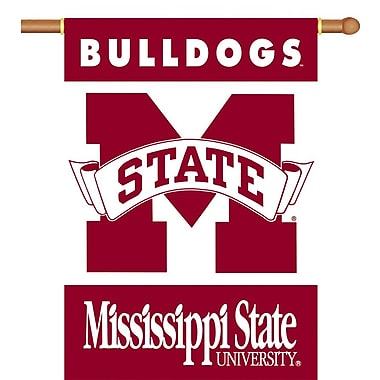 BSI Products NCAA 2-Sided Banner; Mississippi State