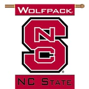 BSI Products NCAA 2-Sided Banner; North Carolina State