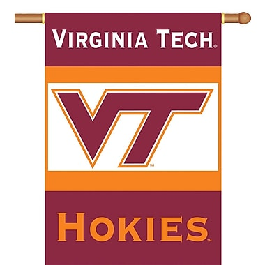 BSI Products NCAA 2-Sided Banner; Virginia Tech