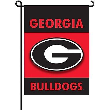 BSI Products NCAA 2-Sided Garden Flag Set; Georgia