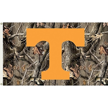 BSI Products NCAA Realtree Camo Traditional Flag; Tennessee