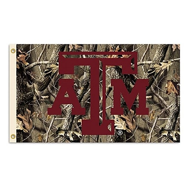 BSI Products NCAA Realtree Camo Traditional Flag; Texas A&M