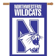 BSI Products NCAA 2-Sided Banner; Northwestern