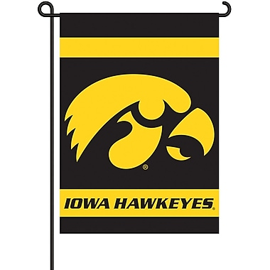 BSI Products NCAA 2-Sided Garden Flag Set; Iowa