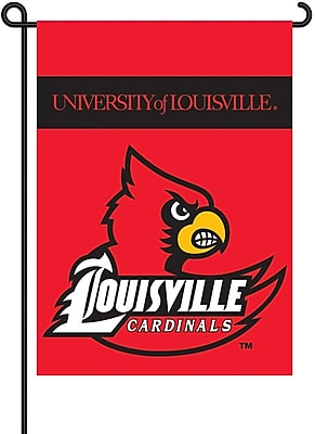BSI Products NCAA 2-Sided Garden Flag Set; Louisville WYF078275869287
