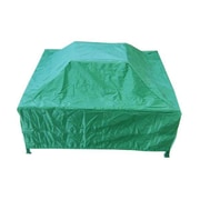 Deeco PVC Coated Oxford Fabric Square Fire Pit Cover