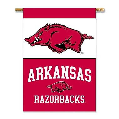BSI Products NCAA 2-Sided Banner; Arkansas