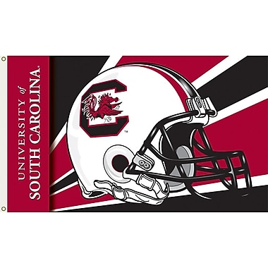 BSI Products NCAA Helmet Design Traditional Flag; South Carolina