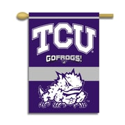 BSI Products NCAA 2-Sided Banner; TCU